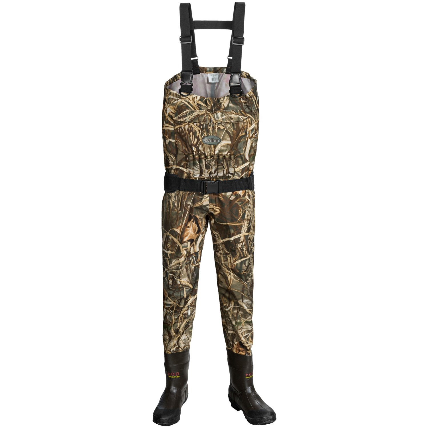 Allen co blue bill camo breathable waders insulated for Fishing waders reviews