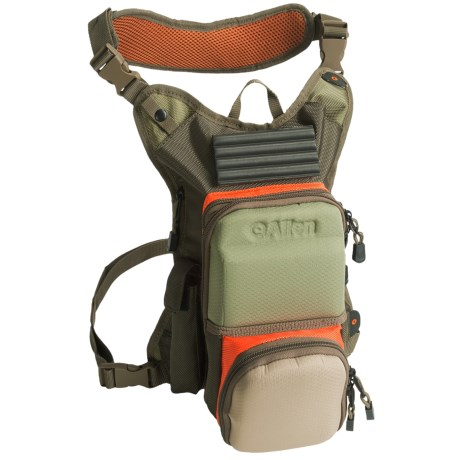 Allen green river light fly fishing wading chest pack for Fishing chest pack