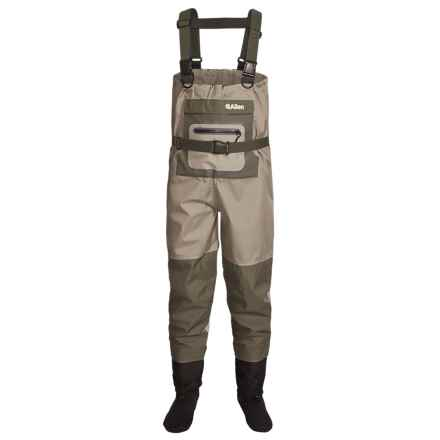 Allen Co. Kenai Chest Waders - Stockingfoot (For Men) in Green - Closeouts