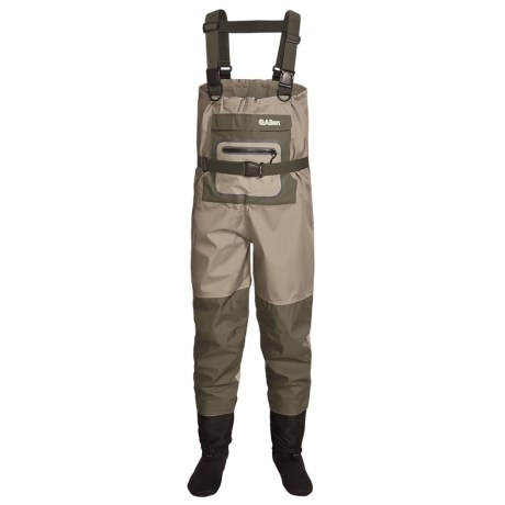 Allen Co. Kenai Chest Waders - Stockingfoot (For Men) in Green
