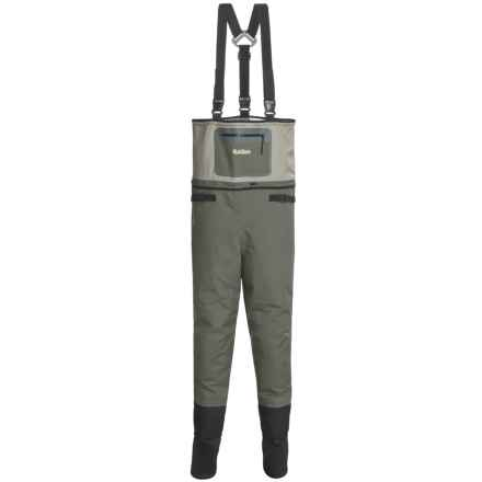 Allen Co. Madison Breathable Convertible Waders - Stockingfoot (For Men) in Brown - Closeouts