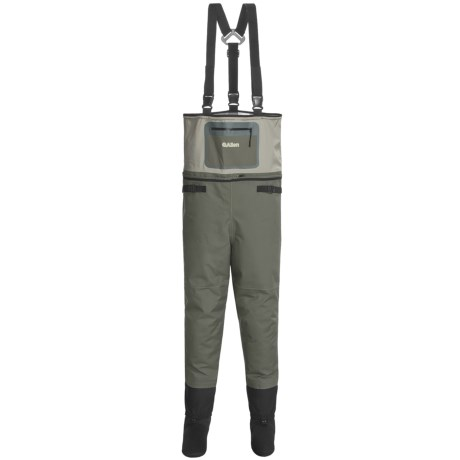 Allen Co. Madison Breathable Convertible Waders - Stockingfoot (For Men) in Brown