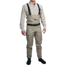 Allen Co. Platte River Chest Waders - Stockingfoot (For Men) in Tan - Closeouts
