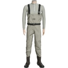 Allen Co. Shelter Bay Breathable Waders - Boot Foot (For Men) in Slate - Closeouts