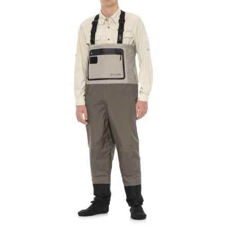 Allen Co. Sweetwater Guide Convertible Stockingfoot Waders (For Men) in Tan - Closeouts