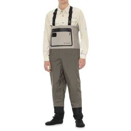Allen Co. Sweetwater Guide Convertible Stockingfoot Waders (For Men) in Tan