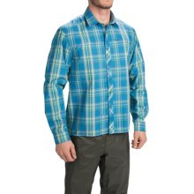 Allen Fly Fishing Exterus Chilliwack Fishing Shirt - UPF 30+, Long Sleeve (For Men) in Azure - Closeouts