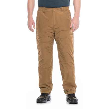 Allen Fly Fishing Exterus Fireside Pants - UPF 50+ (For Men) in Dark Khaki - Closeouts
