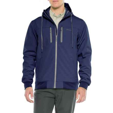 Allen Fly Fishing Exterus Headland Hoodie - Full Zip (For Men) in Midnight Blue - Closeouts