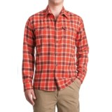 Allen Fly Fishing Exterus Hearthstone Flannel Shirt - UPF 50+, Long Sleeve (For Men)