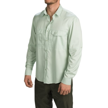 Allen Fly Fishing Exterus Marathon Key Fishing Shirt UPF 40+, Long Sleeve (For Men)