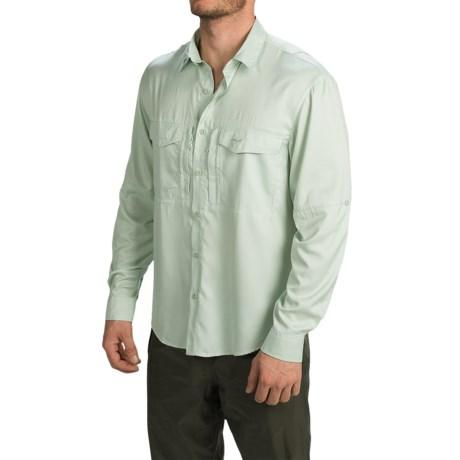 Allen Fly Fishing Exterus Marathon Key Fishing Shirt - UPF 40+, Long Sleeve (For Men) in Seafoam