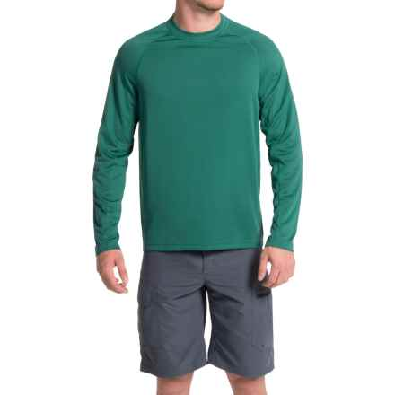 Allen Fly Fishing Exterus Spectrum Shirt - UPF 20+, Long Sleeve (For Men) in Emerald - Closeouts