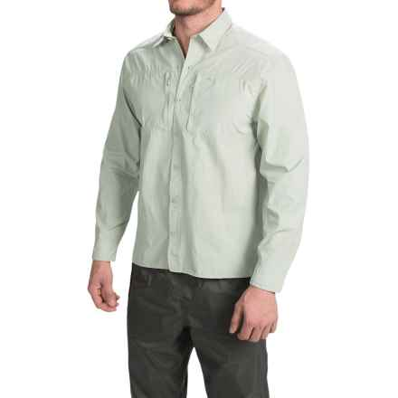 Allen Fly Fishing Exterus Streamer Fishing Shirt - UPF 30+, Long Sleeve  (For Men) in Sage - Closeouts