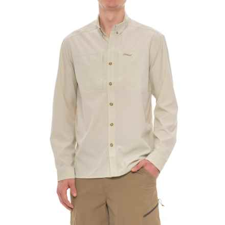 Allen Fly Fishing Exterus Streamer Fishing Shirt - UPF 30+, Long Sleeve  (For Men) in Sand - Closeouts