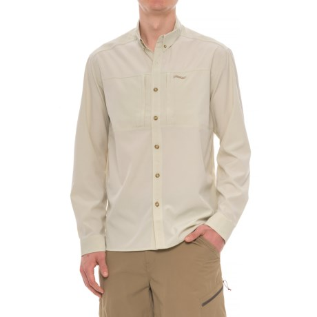 Allen Fly Fishing Exterus Streamer Fishing Shirt - UPF 30+, Long Sleeve  (For Men) in Sand