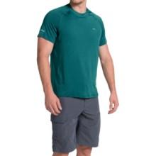 Allen Fly Fishing Exterus Sunniva Fishing Shirt - UPF 50+, Short Sleeve (For Men) in Emerald - Closeouts