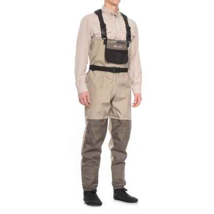 Allen Pathfinder Stockingfoot Waders (For Men) in Grey - Closeouts