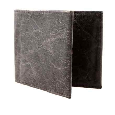 Allett Sport RFID-Blocking Wallet - Lambskin Leather in Black - Closeouts
