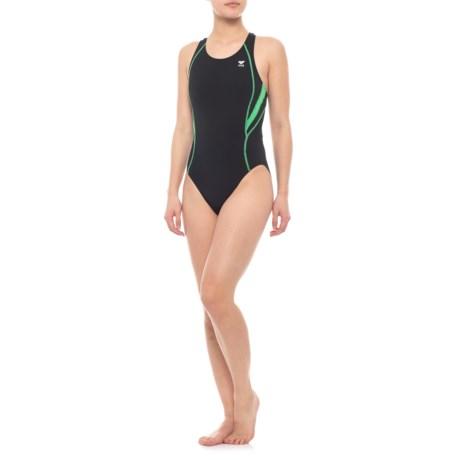 Image of Alliance T-Splice Maxfit Swimsuit - UPF 50+, 1-Piece (For Women)