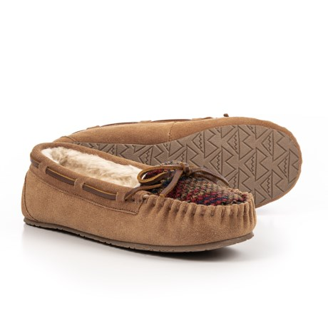 Image of Allie Trapper Slippers - Suede (For Women)