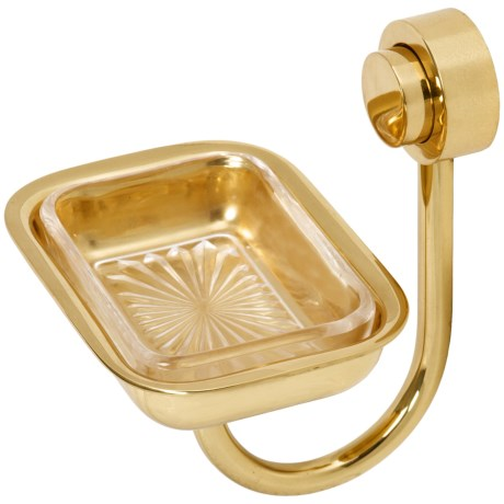 Allied Brass Venus Wall-Mount Soap Dish in Polished Brass