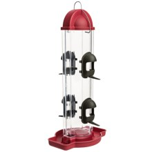 Allied Precision Skyline Bird Feeder in Raspberry - Closeouts