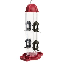 Allied Precision Skyline Bird Feeder in Raspberry