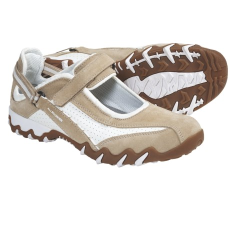 Allrounder by Mephisto Nimbo Mary Jane Style Sneakers (For Women) in Desert Suede/White