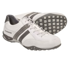 Allrounder by Mephisto Taran Shoes - Leather (For Men) in White Suede - Closeouts