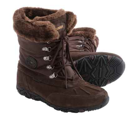 Allrounder by Mephisto West Snow Boots - Waterproof (For Women) in Espresso - Closeouts