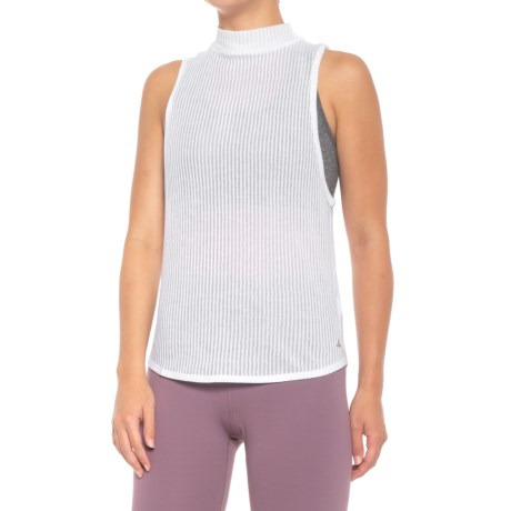 Image of Alluring Shirt - Organic Cotton, Sleeveless (For Women)