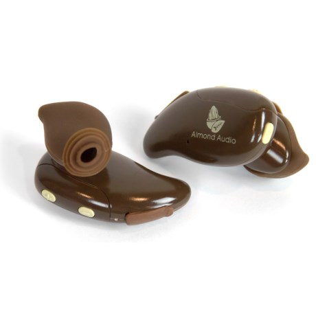 Almond Audio Wireless Earbuds - Bluetooth® in Brown