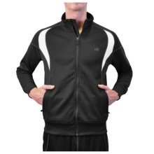 Alo Boost Jacket (For Men) in Anthracite/White - Closeouts