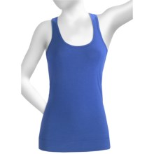 Alo Deep Scoop Neck Tank Top (For Women) in Blue Dazzle - Closeouts