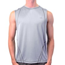 Alo Element Shirt - Sleeveless (For Men) in White - Closeouts