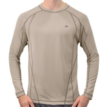 Alo Element T-Shirt - Recycled Materials, Long Sleeve (For Men) in Cement - Closeouts