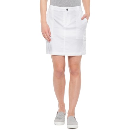6fae6949b9 Alp-n-Rock Amelie Embroidered Cargo Skort (For Women) in White -