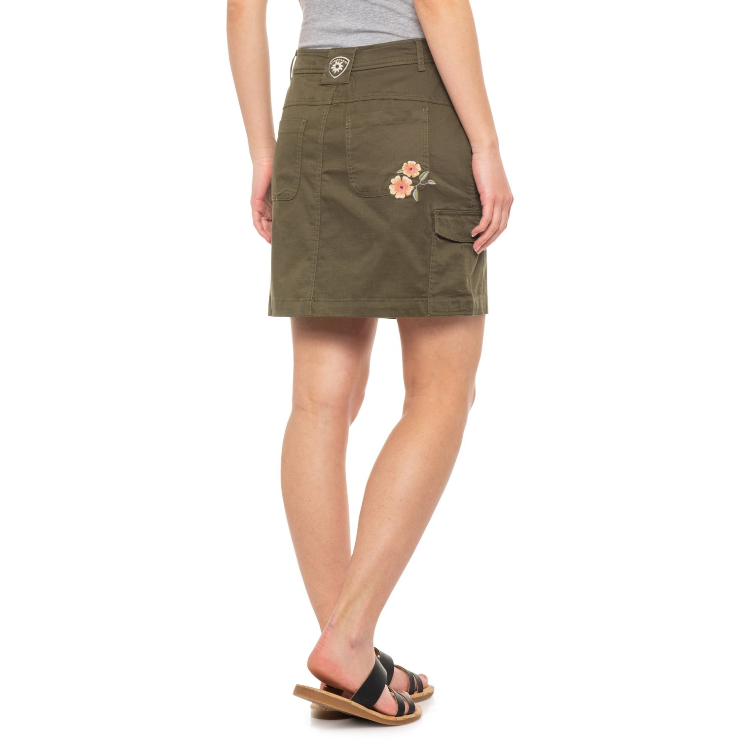 new style 3775c 87bc6 Alp-n-Rock Amelie Embroidered Cargo Skort (For Women)