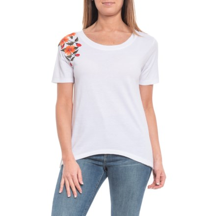 b6e825ce Alp-n-Rock Amelie Embroidered T-Shirt - Short Sleeve (For Women