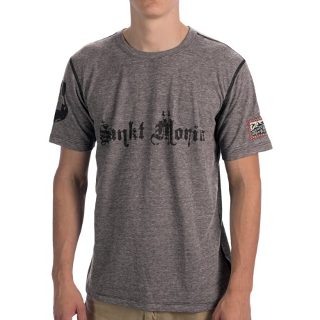 Alp-n-Rock Logo T-Shirt - Short Sleeve (For Men) in Sankt Moritz