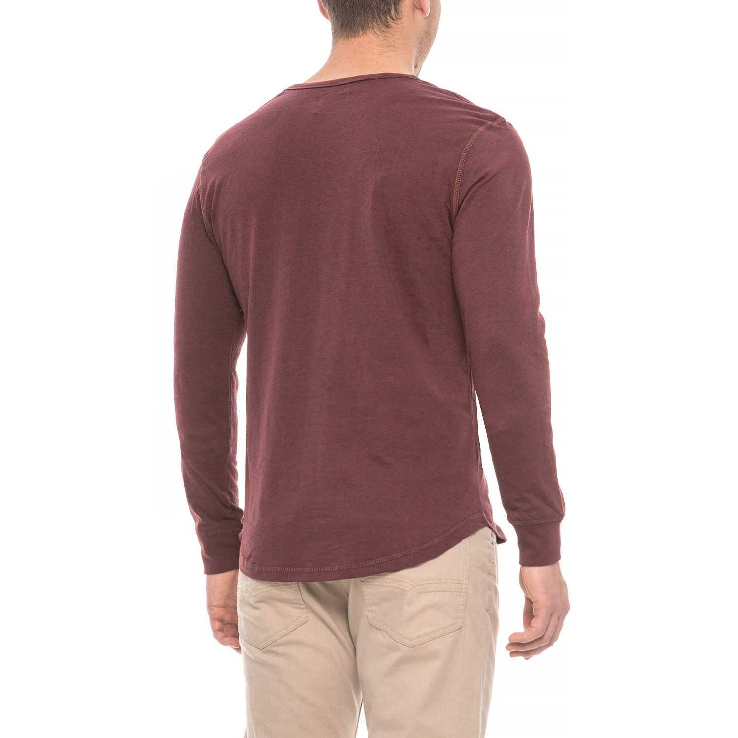 Alpha Beta Henley Shirt For Men Save 50