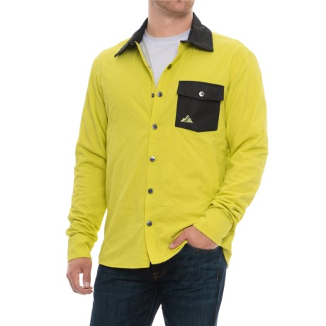 Alpha Shirt Jacket - Insulated (For Men)