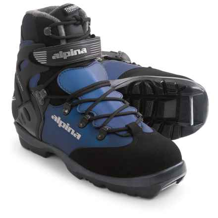 Alpina BC 1550 Eve Backcountry Ski Boots - NNN BC, Insulated  (For Women) in Black/Blue - Closeouts