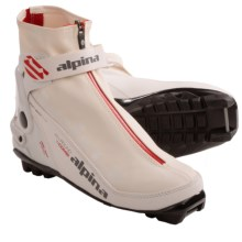 Alpina S Combi Eve Sport Ski Boots - Insulated, NNN (For Women) in White/Red/Black - Closeouts