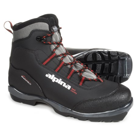Alpina Snowfield Nordic Backcountry Ski Boots For Men Save - Alpina boots