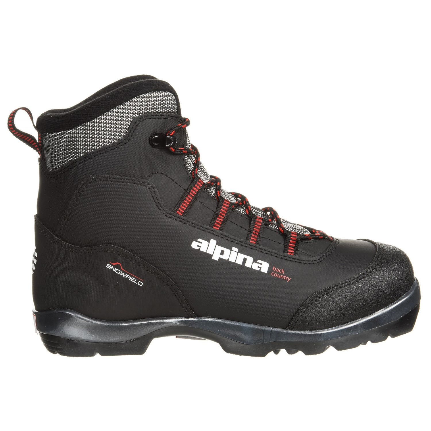 Alpina Snowfield Nordic Backcountry Ski Boots For Men Save - Alpina backcountry ski boots