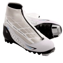 Alpina T10 Eve Touring Ski Boots - NNN (For Women) in White/Black/Blue - Closeouts