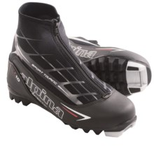 Alpina T10 Touring Ski Boots - Insulated (For Men and Women) in Black/White/Red - Closeouts