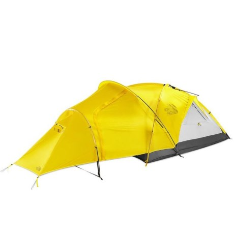Image of Alpine Guide Tent - 3-Person, 4-Season - CANARY YELLOW/HIGH RISE GREY ( )